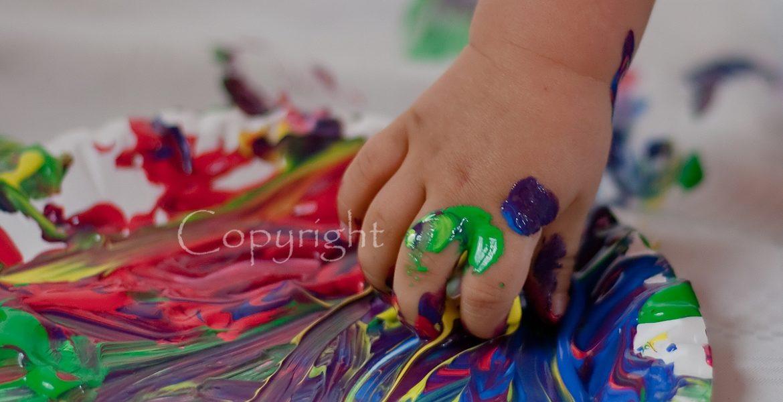 Farbfotoshooting in Berlin | Kinderfotoshooting