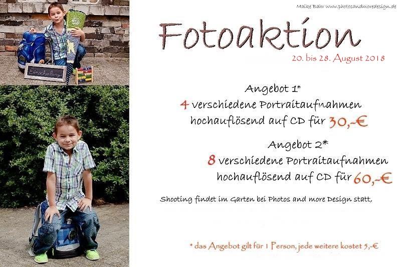 Einschulung 2018 Fotoaktion Berlin-Lichtenrade